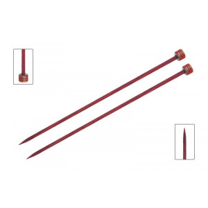 KnitPro Cubics Strikkepinde / Jumperpinde Birk 30cm 5,50mm / 11.8in US9