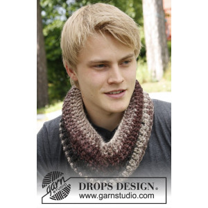 Anton by DROPS Design - Hals Hæklekit One Size