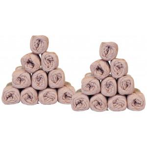 Mayflower Cotton 8/4 Garnpakke Unicolor 1489 Støvet Rosa - 20 stk