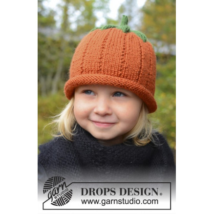 Image of   Sweet Pumpkin by DROPS Design - Hue Strikkeopskrift str. 0/6 mdr - 7/8