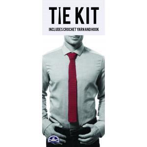 DMC Tie Kit - Slips Hæklekit Rød