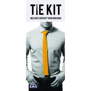 DMC Tie Kit - Slips Hæklekit Gul