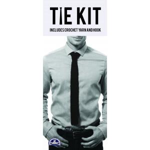 DMC Tie Kit - Slips Hæklekit Sort