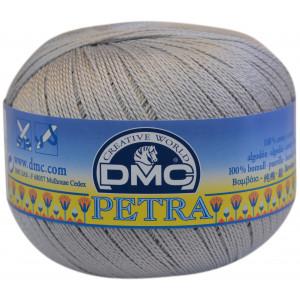 DMC Petra nr. 5 Hæklegarn Unicolor 5415 Sølvgrå