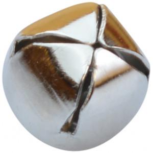 Bjælde / Rasleklokke 10 mm Sølv - 1 stk