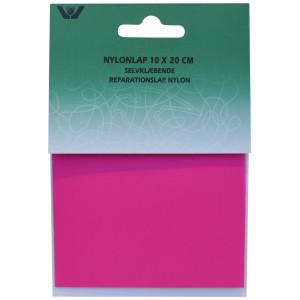 Reparationslap Selvklæbende Nylon Pink 10x20 cm - 1 stk
