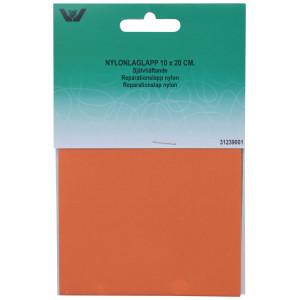 Reparationslap Selvklæbende Nylon Orange 10x20 cm - 1 stk
