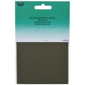 Reparationslap Selvklæbende Nylon Khaki 10x20 cm - 1 stk