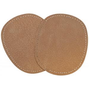 Albuelapper Ruskind Oval Brun 10,5x13,2 cm - 2 stk