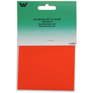 Reparationslap Selvklæbende Nylon Rød 10x20 cm - 1 stk