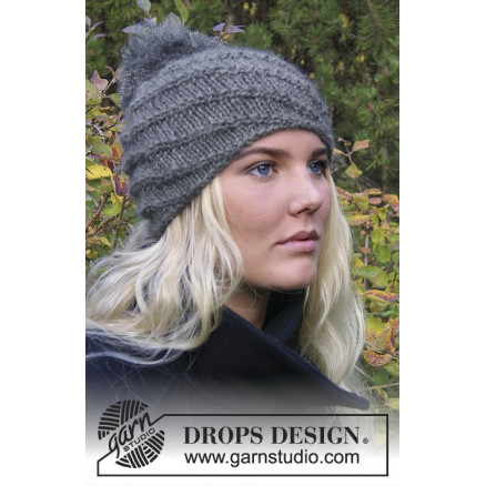 b0835420b20f Prinsesse Mary Hue - Chinook by DROPS Design - Hue strikkeopskrift str. S M