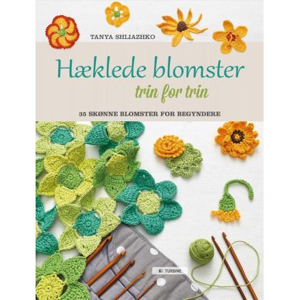 Image of   Hæklede blomster trin for trin - Bog af Tanya Shliazhko