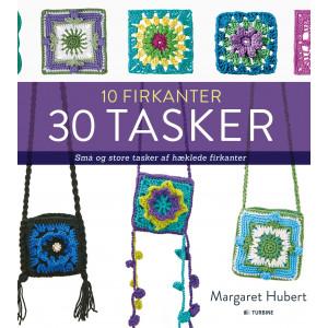 10 firkanter 30 tasker - Bog af Margaret Hubert