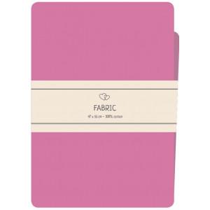 Go handmade Fat quarter / Patchworkstof Bomuld Pink - 47x55cm