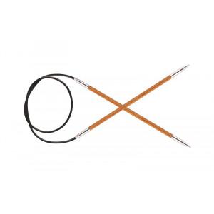 KnitPro Royalé Rundpinde Birk 120cm 3,75mm / 47.2in US5 Orange Lily