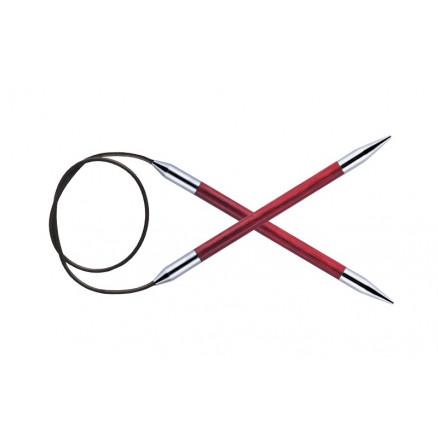 Image of   KnitPro Royalé Rundpinde Birk 120cm 6,00mm / 47.2in US10 Candy Pink