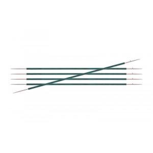 KnitPro Royalé Strømpepinde Birk 15cm 2,00mm / 5.9in US0 Aquamarine