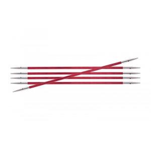 KnitPro Royalé Strømpepinde Birk 15cm 2,75mm / 5.9in US2 Candy Pink