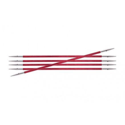 Image of   KnitPro Royalé Strømpepinde Birk 15cm 2,75mm / 5.9in US2 Candy Pink