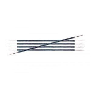 KnitPro Royalé Strømpepinde Birk 15cm 3,25mm / 5.9in US3 Royale Blue