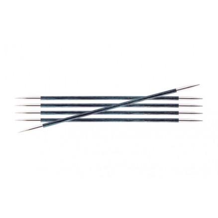 Image of   KnitPro Royalé Strømpepinde Birk 15cm 3,25mm / 5.9in US3 Royale Blue