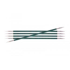KnitPro Royalé Strømpepinde Birk 15cm 3,50mm / 5.9in US4 Aquamarine