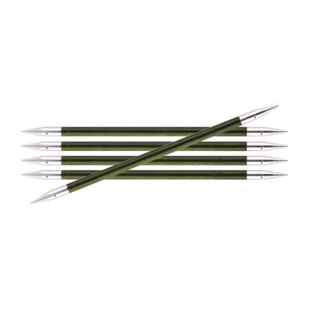 Image of   KnitPro Royalé Strømpepinde Birk 15cm 5,50mm / 5.9in US9 Misty Green