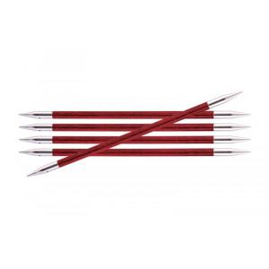 KnitPro Royalé Strømpepinde Birk 20cm 5,00mm / 7.9in US8 Cherry Blossom