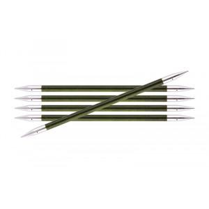 KnitPro Royalé Strømpepinde Birk 20cm 5,50mm / 7.9in US9 Misty Green