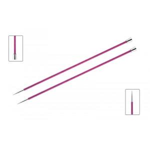 KnitPro Royalé Strikkepinde / Jumperpinde Birk 30cm 4,00mm / 11.8in US6 Fuchsia Fan