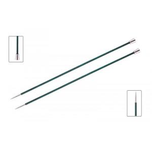 KnitPro Royalé Strikkepinde / Jumperpinde Birk 35cm 3,50mm / 13.8in US4 Aquamarine