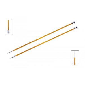 KnitPro Royalé Strikkepinde / Jumperpinde Birk 35cm 3,75mm / 13.8in US5 Orange Lily