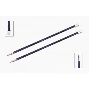 KnitPro Royalé Strikkepinde / Jumperpinde Birk 35cm 6,50mm / 13.8in US10½ Purple Passion