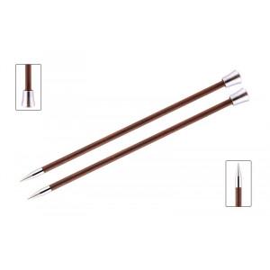 KnitPro Royalé Strikkepinde / Jumperpinde Birk 35cm 7,00mm / 13.8in US10¾ Burgundy Rose