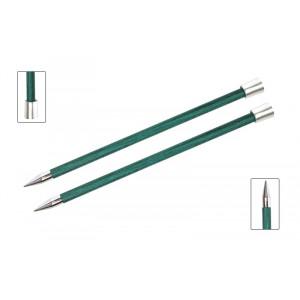 KnitPro Royalé Strikkepinde / Jumperpinde Birk 35cm 10,00mm / 13.8in US15 Aquamarine