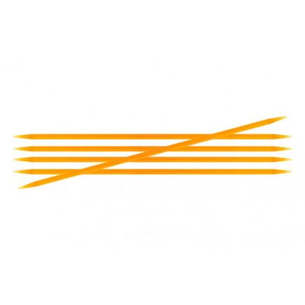 Knitpro Trendz Strømpepinde Akryl 15cm 4,00mm / 5.9in Us6 Orange
