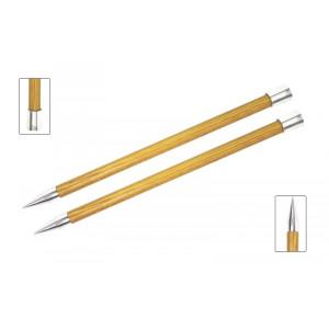 KnitPro Royalé Strikkepinde / Jumperpinde Birk 35cm 12,00mm / 13.8in US17 Yellow Topaz
