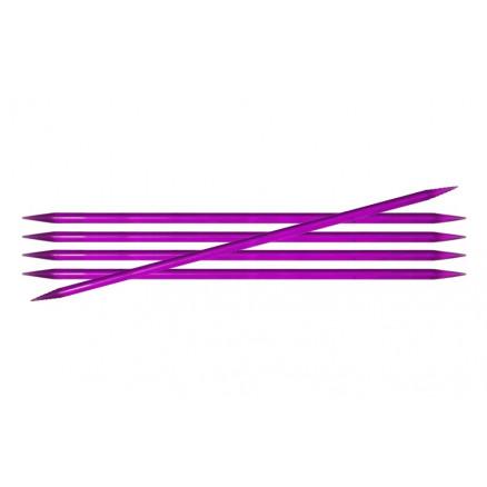Knitpro Trendz Strømpepinde Akryl 15cm 5,00mm / 5.9in Us8 Violet