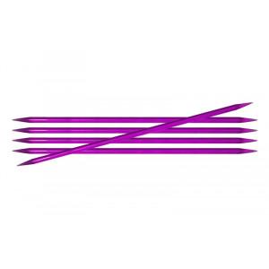 KnitPro Trendz Strømpepinde Akryl 20cm 5,00mm / 7.9in US8 Violet
