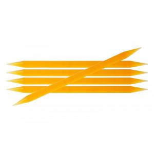 KnitPro Trendz Strømpepinde Akryl 20cm 10,00mm / 7.9in US15 Orange