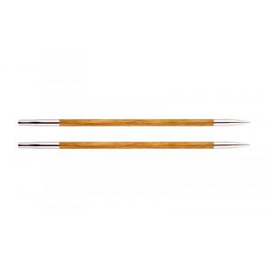 KnitPro Royalé Udskiftelige Rundpinde Birk 13cm 3,75mm / US5 Orange Lily