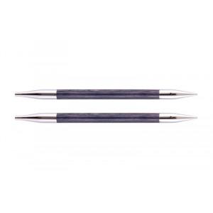 KnitPro Royalé Udskiftelige Rundpinde Birk 13cm 6,50mm / US10½ Purple Passion