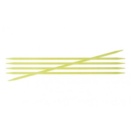Knitpro Trendz Strømpepinde Akryl 15cm 3,75mm / 5.9in Us5 Fluorescent