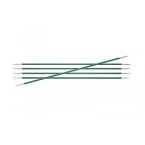 KnitPro Zing Strømpepinde v15cm 3,00mm / 5.9in US2½ Jade
