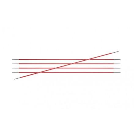 Knitpro Zing Strømpepinde Messing 20cm 2,00mm / 7.9in Us0 Coral