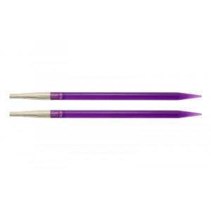 KnitPro Trendz Udskiftelige Rundpinde Akryl 13cm 5,00mm US8 Violet