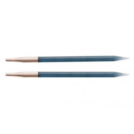 Knitpro Trendz Udskiftelige Rundpinde Akryl 13cm 5,50mm Us9 Turquoise