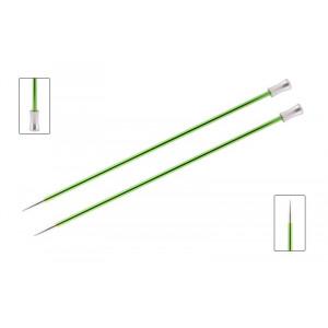 KnitPro Zing Strikkepinde / Jumperpinde Aluminium 30cm 3,50mm / 11.8in US4 Chrysolite