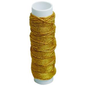 Elastiktråd Lurex Guld 10 meter