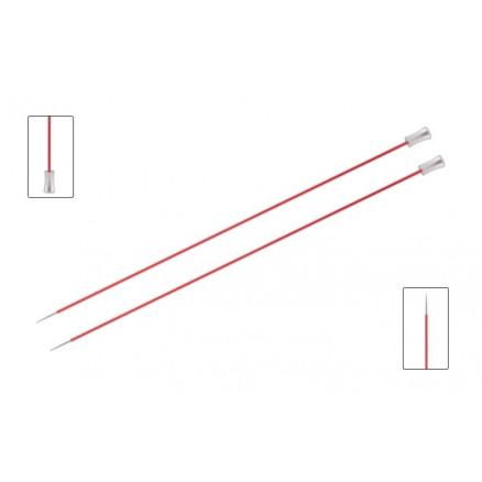 Knitpro Zing Strikkepinde / Jumperpinde Aluminium 40cm 6,50mm / 15.7in